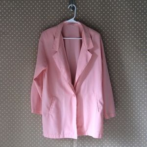 Authentic vintage pink blazer from the 1990s
